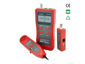 Network Cable Tester Tracker Phone Line Tester BNC Network Finder USB RJ11 RJ45 Wire Tracer NF838