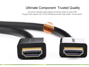 HD104-10106 High Speed HDMI cable with Ethernet
