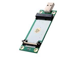 Mini PCI-E WWAN to USB Adapter with SIM CARD SLOT,Mini PCI-E to USB Port 52PIN with SIM Slot for Wireless Module Network Card