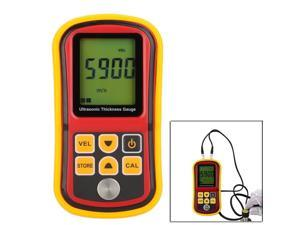 GM100 LCD Digital Ultrasonic Thickness Gauge Tester Depth Gauge + Sound Velocity Meter Range 1.2~220mm ,Digital Ultrasonic Thickness Meter Tester Gauge Metal Tester 1.2-220mm GM100