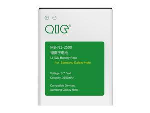 QIC MB-N1-2500 2500mAh Replacement Extended Battery for Samsung Note N7000, GT-I9220, SGH-I717, SGH-T879