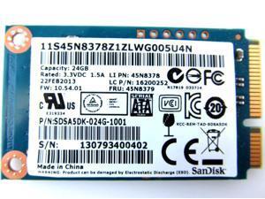 SDSA5DK-024G-1001 Lenovo Ideapad U300S 24Gb SOLID STATE DRIVE SSD mSATA