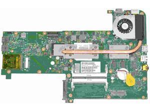 611487-001 HP TouchSmart TM2-2100 Intel laptop Motherboard w/ SU5400 1.2GHz CPU