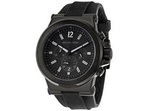 Michael Kors MK8152 Dylan Black Silicone Strap Men's Watch