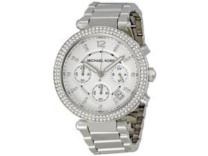 Michael Kors MK5353 Parker Glitz Women's Watch - Silver