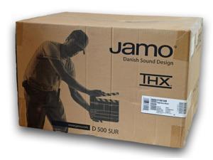 Jamo D 500 3-Way 200W LCR Bookshelf Speaker