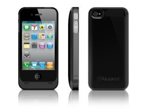 Aluratek APC01B-R 1850mAh iPhone4 Battery Case - Black (Refurbished)