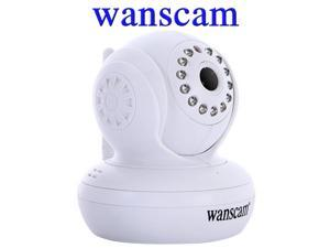 Wanscam Wireless/Wifi/Wired SD/TF Card Slot PNP Dual Audio Pan/Tilt Infrared CCTV Security Internet Network IP Camera Motion ...