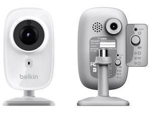 Refurbished: Belkin Netcam HD F7D7602 WI-Fi HD Camera with Night Vision - Two Pack