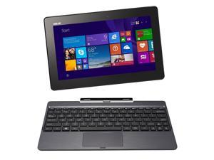 "Asus Transformer Book T100 10.1"" 2-in-1 Tablet with Dock, Quad Core Intel Atom Bay Trail Z3735F 1.33 GHz (1.83 GHz Burst), 1 GB Memory, 32 GB Storage, Windows 8.1"
