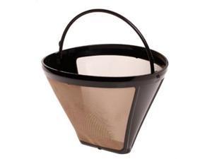 Capresso #4 Goldtone Filter Cone