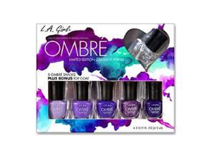LA GIRL Ombre Limited Edition Gradient Polish Set - Love Affair - Love Affair