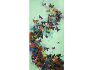 Butterfly wave painting