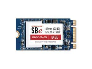 MyDigitalSSD 64GB (60GB) Super Boot Eco Drive 42mm SATA III 6G M.2 NGFF 2242 SSD Solid State Drive - MDM242-SBe-064