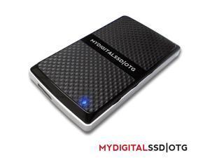 MyDigitalSSD 128GB OTG SuperSpeed USB 3.0 mSSD UASP Compliant Mini Solid State Drive - MDMS-OTG-128