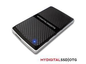 MyDigitalSSD OTG (On The Go) mSATA Based SuperSpeed USB 3.0 Portable External Solid State Storage Drive SSD (512GB)