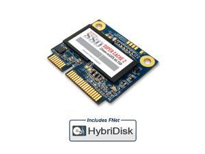 MyDigitalSSD 64GB Super Cache 2 25mm SATA III (6G) mSATA Mini (Half Size) SSD with FNet HybriDisk Software (64GB)