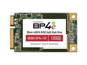 MyDigitalSSD 120GB (128GB) Bullet Proof 4 Eco (BP4e V2) 50mm SATA III (6G) mSATA SSD Solid State Drive - MDMS-BP4e-128