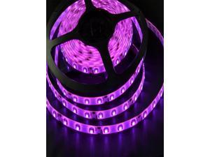 PurPle 5M 3528 SMD Waterproof 300 LED Strip Lighting DC DIY Party Clubs Car Lights