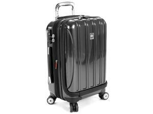 Delsey Helium Aero International Carry On Expandable Spinner - Titanium