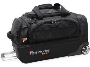 "Pathfinder Gear-Up 22"" Drop Bottom Duffel Black"