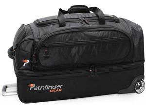 "Pathfinder Gear-Up 26"" Drop Bottom Duffel Black"