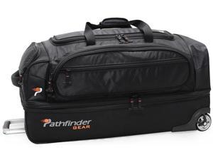 "Pathfinder Gear-Up 32"" Drop Bottom Duffel Black"