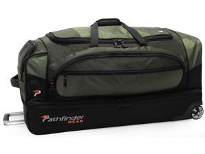 "Pathfinder Gear-Up 36"" Drop Bottom Duffel Olive"