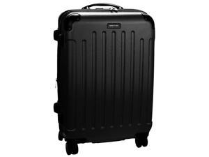 """Kenneth Cole Reaction Renegade Collection 24"""" Expandable Spinner Upright - Black"""