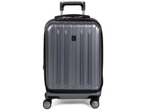 Delsey Titanium International Carry-On Expandable Spinner Trolley - Graphite