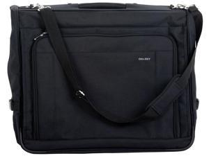 "Delsey Helium Garment Collection 45"" Deluxe Garment Bag Black"