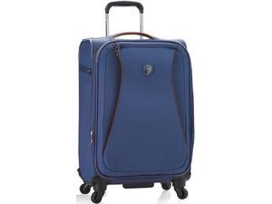 """Heys America Helix Collection Expandable 21"""" Spinner - Blue"""