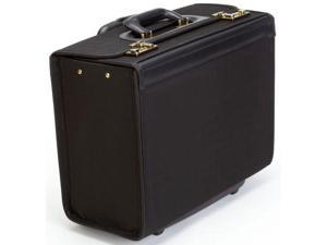 Korchmar Classic Collection Ballistic Wheeled Catalog Case - Black