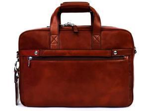 Bosca Old Leather Single Gusset Stringer Bag - Dark Brown