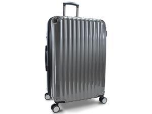 "Kenneth Cole Reaction First Impression 28"" Expandable Spinner Upright - Dark Silver"