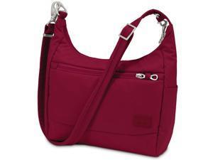 Pacsafe Citysafe CS100 Anti-Theft Travel Handbag - Cranberry