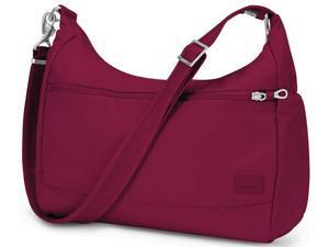 Pacsafe Citysafe CS200 Anti-Theft Handbag - Cranberry