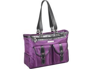 "Clark & Mayfield Marquam Metro 18.4"" Laptop Handbag - Purple"