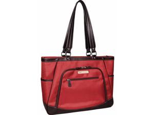 "Clark & Mayfield Sellwood Metro XL 17.3"" Laptop Tote - Red"