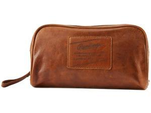 Rawlings Rugged Leather Travel Kit Cognac