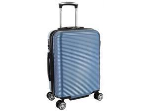 """Kenneth Cole Reaction Sudden Imapact 20"""" Expandable Spinner Carry On - Ice Blue"""