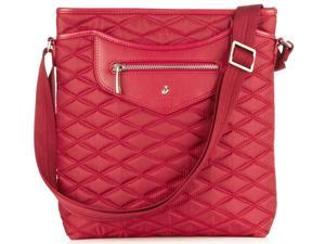 Knomo Fitzrovia Collection Maple iPad Cross Body - Scarlet