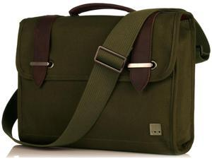 "Knomo Balham Padstow 13"" Brief - Olive"