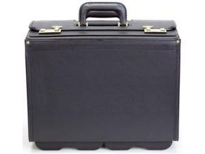 "Korchmar Classic Collection 20"" Wheeled Vinyl Catalog Case Black"