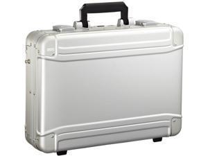 Zero Halliburton Geo Aluminum Collection Large Laptop Case - Silver