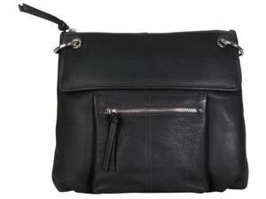 Hadaki Tania Leather Crossbody Shale Gray
