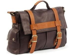 Claire Chase Leather Sochi Messenger Bag - Cafe