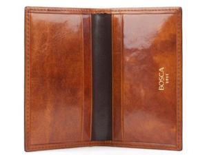 Bosca Old Leather Collection Card Case - Amber