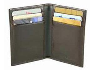Bosca Old Leather Collection 8 Pocket Card Case - Dark Brown