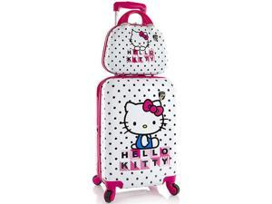 Heys America Hello Kitty 2 Piece Expandable Luggage Set